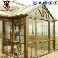 Aluminium Sunroom/greenhouse/skylight System Aluminium Profile For Glass Roof