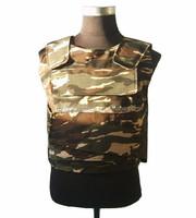 Camo military bulletproof vest