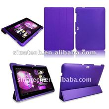 case for galaxy tab10.1 p7500/7510,ultra slim,enclosure with magnet closure