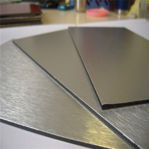 factory china aluminum decoration acp/design acp sheet/brushed aluminum