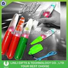 Eco-Friendly Plastic Led Llight Pen For Giveaways Gift