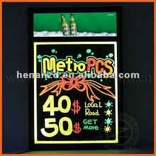 2012 Advertising products led neon sign board