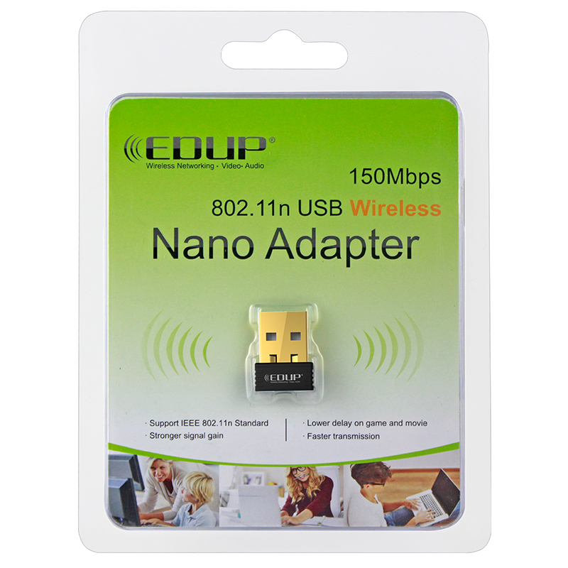 The cheapest 150Mbps IEEE802.11N MTK7601 WiFi USB Wireless Adapter wifi direct nano usb adapter EP-N8553