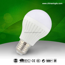 5w 7w 9w led light bulb plastic+aluminum,led bulb parts ,light led bulb