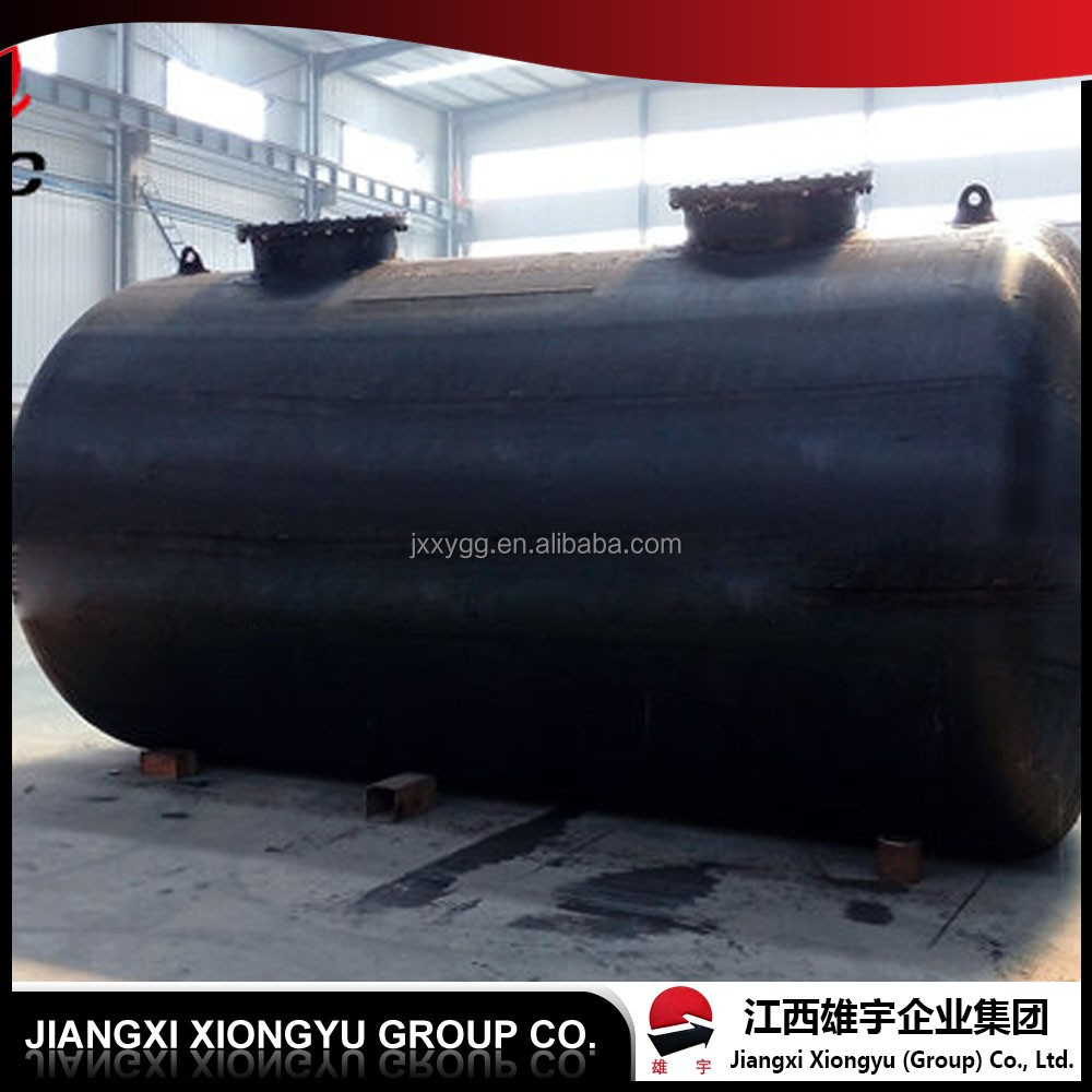Good and cheap ASTM GB liquid chlorine storage tank with ISO&ROSH