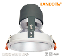 Tunable White LED COB Dimmable Downlight CE Certified 15W/19W/29W/39W 1485lm-4040lm 3000K / 4000 / 6500K 100V - 240V Adjustable