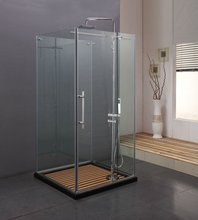 Frameless Spare Parts Tempered Hinged Shower Enclosure /Cubicle(KK8010)