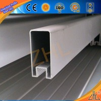 Good! OEM 6063 aluminium alloy tube/ aluminium tube with groove/ sold by weight of aluminum section