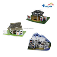 Puzzle diy model novelty toy kids mini house