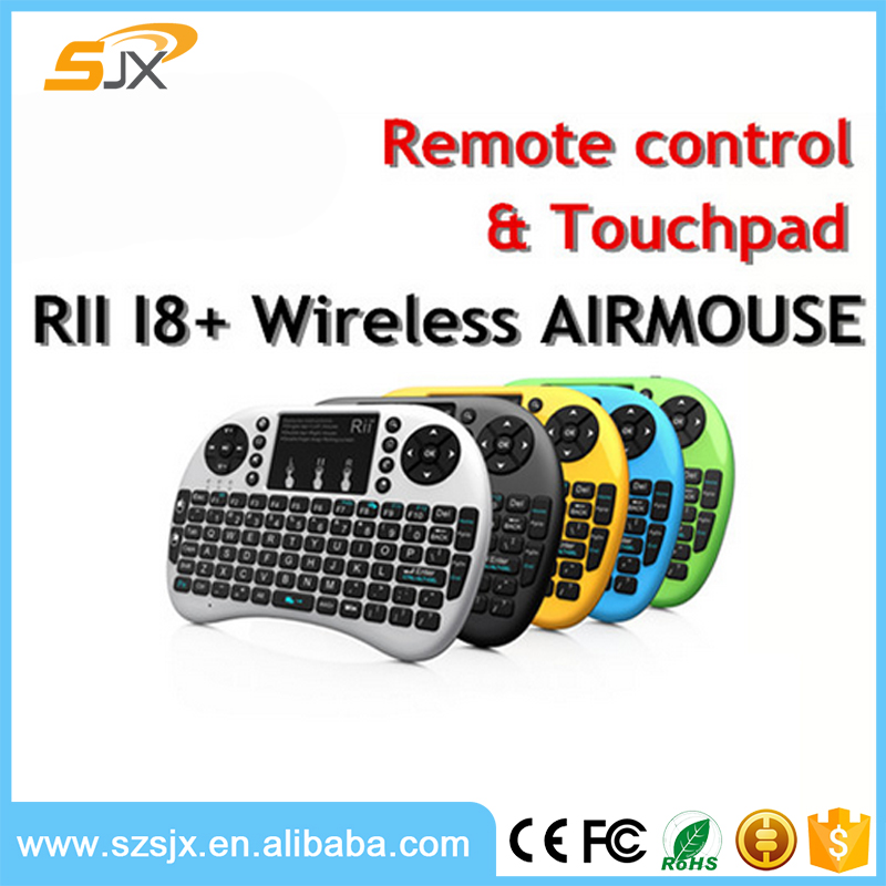 Rii mini i8+ Russian Version Wireless Backlight Keyboard with Touchpad for Smart Android TV Box Set Top Box,PC