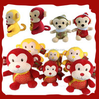 Hot sale!!! Various kinds of lovely stuffed animal plush toy monkey for sale in china