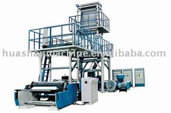3-Layer Co-Extrusion Blown Film Extrusion Line