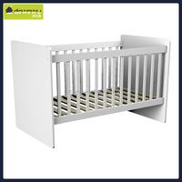 wood crib high quality and durable bed extender for baby