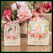 Elephant Paper Sweet Boxes With Ribbons