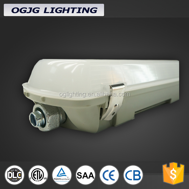 0-10V dimmable led tri-proof lights waterproof led lights for pig farms with PC housing poultry