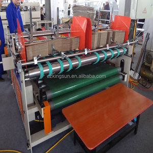 High speed Full Automatic Box pre-fold Gluer Folder Box Pasting Machine (CE ISO)