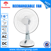 16 Inch Fan Cooler Rechargeable Electric Box Fans