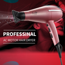 Professional Hair Dryer Negative Ionic Blow Dryer 2100w AC Motor 2 Speeds and 3 Heats with Cold Shot Button Dryer