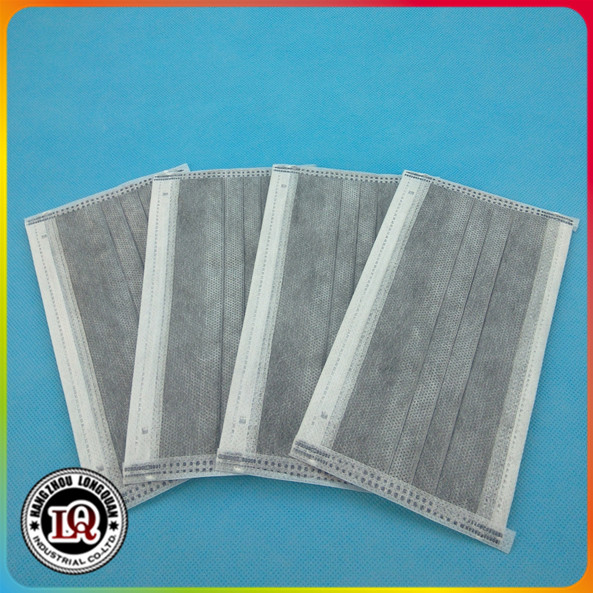 Disposable 4 ply Activated Carbon Face Mask