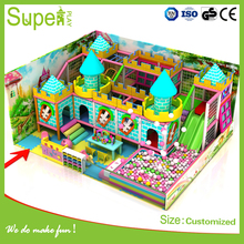 kids plastic material gym equipment used indoor play equipment for sale