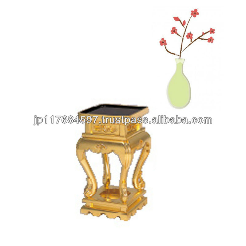 Display stand for flower vase and incense burner