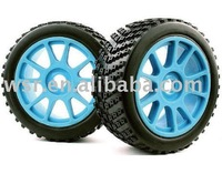 Custom RC rubber toy tires