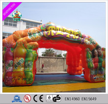 2016 Fashion inflatable can advertising model/ products