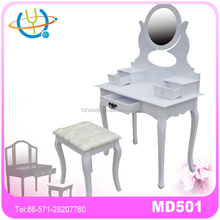 New luxury dressing chair makeup table desk bedroom furniture