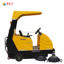 Electric floor cleaning machine driving road cleaning vehicles for sale