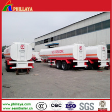 30-60CBM Steel Oil Tank Wagon Fuel Transport Tanker Truck Semi Trailer
