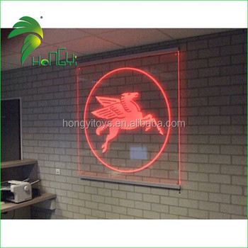 Custom acrylic LED logo
