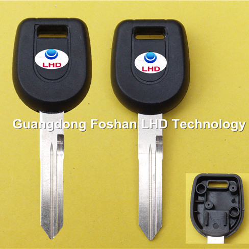 Key Case Fob chip Mitsubishi transponder key cover For Mitsubishi car key