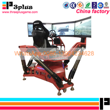 2017 New attractive game machine 3d car driving simulator