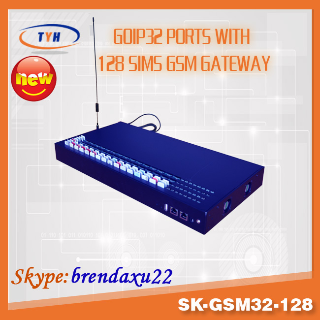 sk-gsm32-128 pri e1 32 ports gsm sip gateway with intercall setting for reduce sim blockage