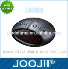 Bluetooth alarm clock, FM PLL Radio High sensitivity Receiver,Support USB/SD alarm clock