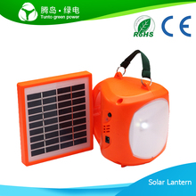 Promotional Green Engergy Led Solar Lantern With Mobile Phone Charger