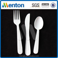 6g heavy weight plastic pp fork knife spoon