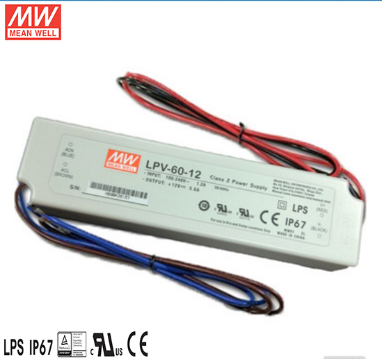 led module constant voltage triac dimmable driver 60w 24vpower supply