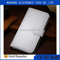 wallet case leather case for huawei P6 CASE