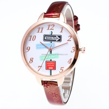 students watch the female retro exquisite leather watch personality standard way