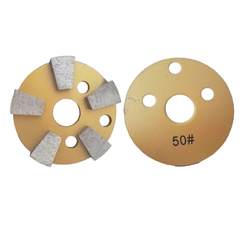 100mm Metal Diamond Grinding Wheel 5 Segments Grinding Blade 4 Inch