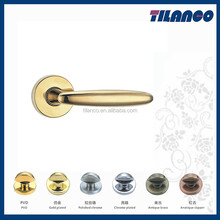 Euro Profile Italy Quality Zinc Alloy Door Handles For Cottage