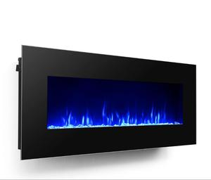 50 Inch Wall Recessed Electric Fireplace & Wall mounted Electric Fireplace