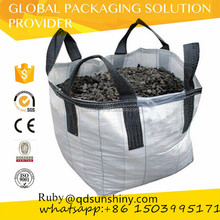 Flexible Bulk Container Ton bag for gravel / FIBC big jumbo bag 1000kg