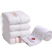 Wholesale Luxury Custom Embroidery 100% Cotton Bath Hotel Hand Towel