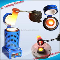 220V 3kg Digital Metal Melting Furnace Kiln for Melting Gold Silver Alloy