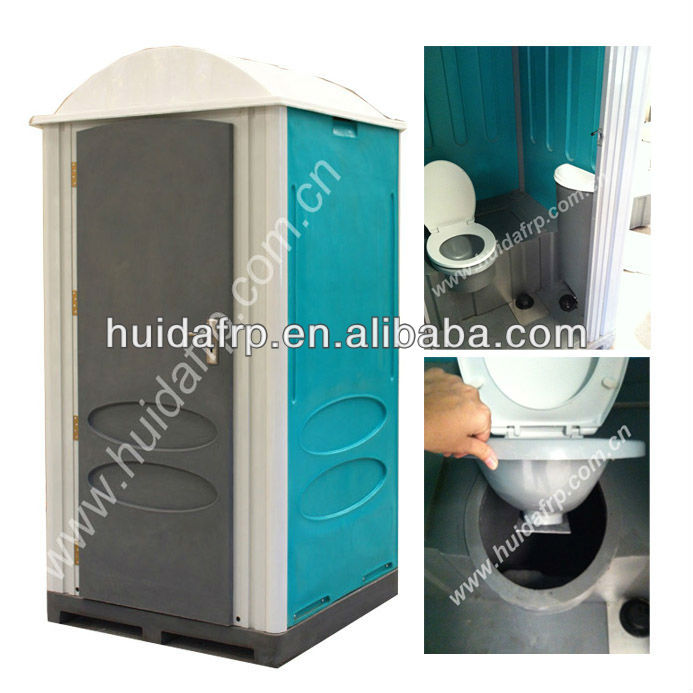 cheap price plastic portable toilet outdoor public mobile WC