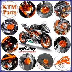 New Arrival Wholesale Orange CNC Aluminum KTM Duke Motorcycle Body Kits