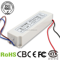 OEM factory constant voltage 100w waterproof led driver plastic case switch transformer