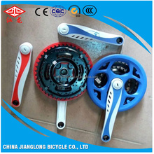 Chinese wholesale good quality low price bike parts steel bicycle chainwheel